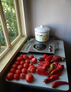 9.08. Переработка овощей в разгаре.