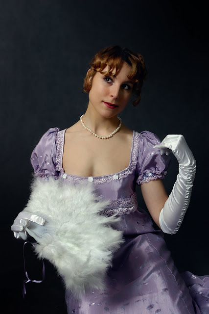 Lady in White Gloves