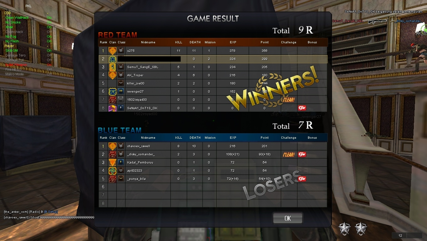 Cheat Pb Hit All Weapon Wallhack Ammo Kumpulan Cheat Point Blank Pb