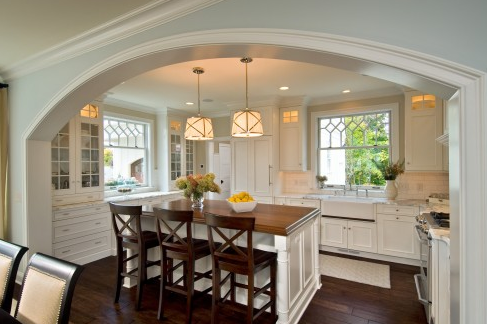 Houzz Open Kitchen Designs