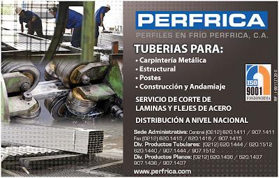 PERFILES EN FRIO PERFRICA, C.A. en Paginas Amarillas tu guia Comercial
