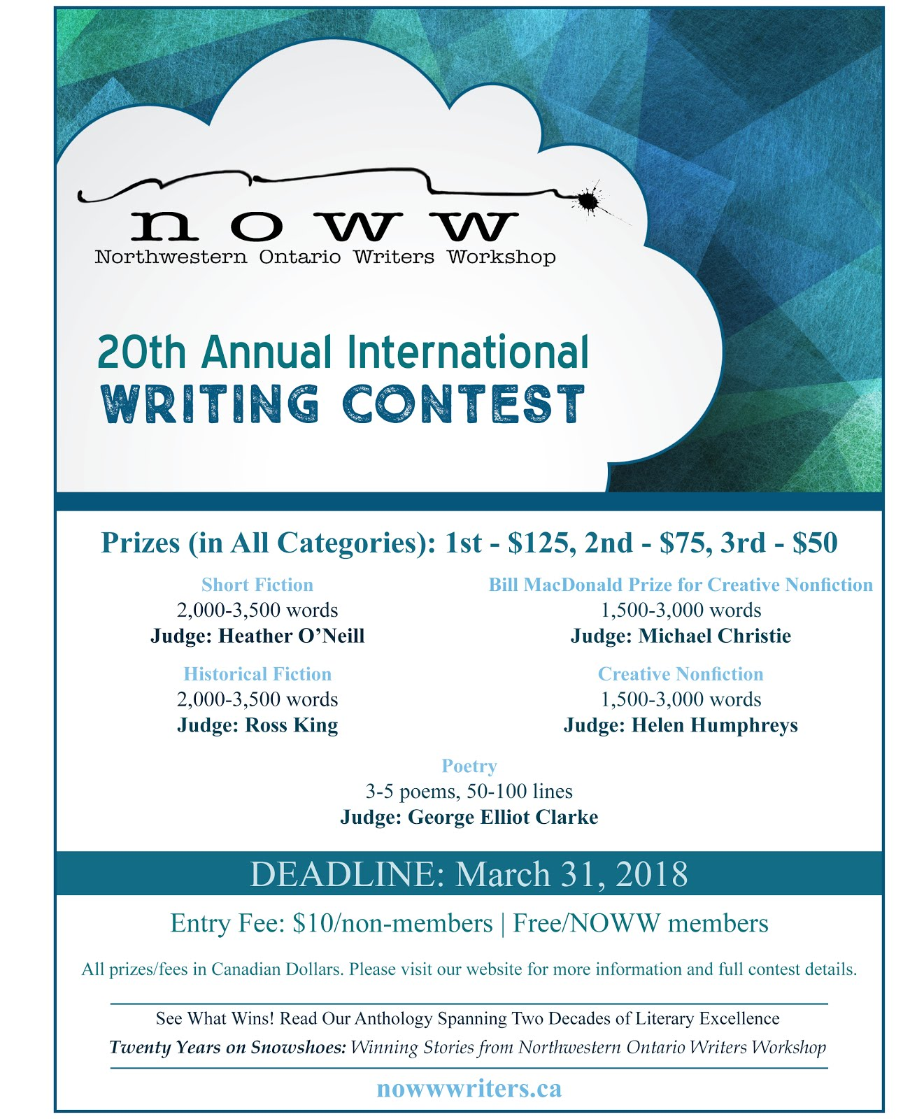 NOWW WRITING CONTEST