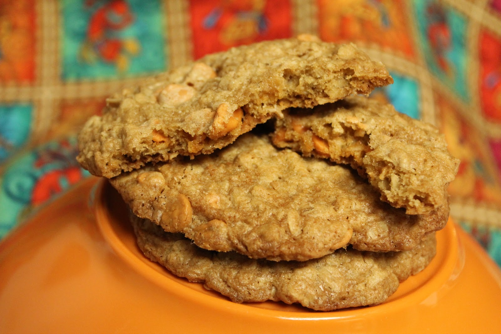Gluten Free Casually: Oatmeal Butterscotch Cookies