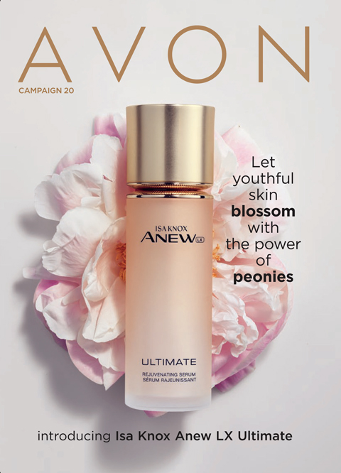 Shop the current Avon brochure online now