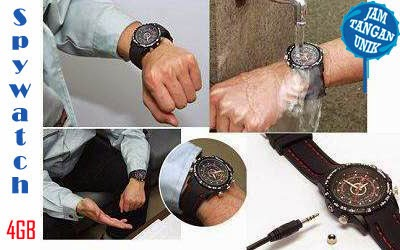 SPY WATCH 4GB WATERPROOF