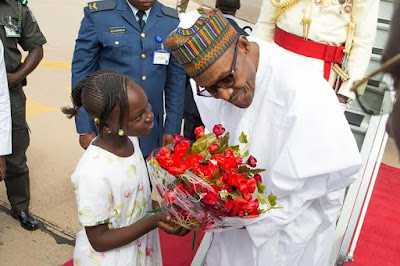 Buhari at convocation ceremony of Nigerian Defence Academy