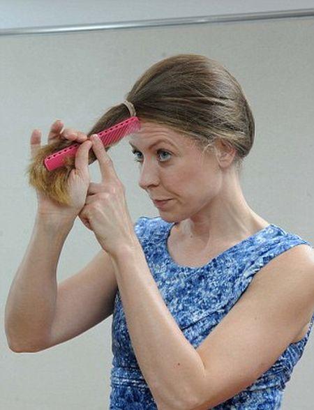 كيف تستطيع المرأة قص شعرها بنفسها؟ 1.jpg