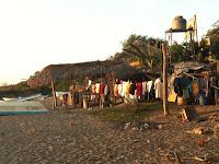 Beach in Playa Gigante, Nicaragua