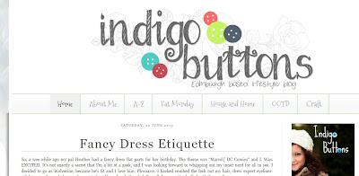Indigo Buttons