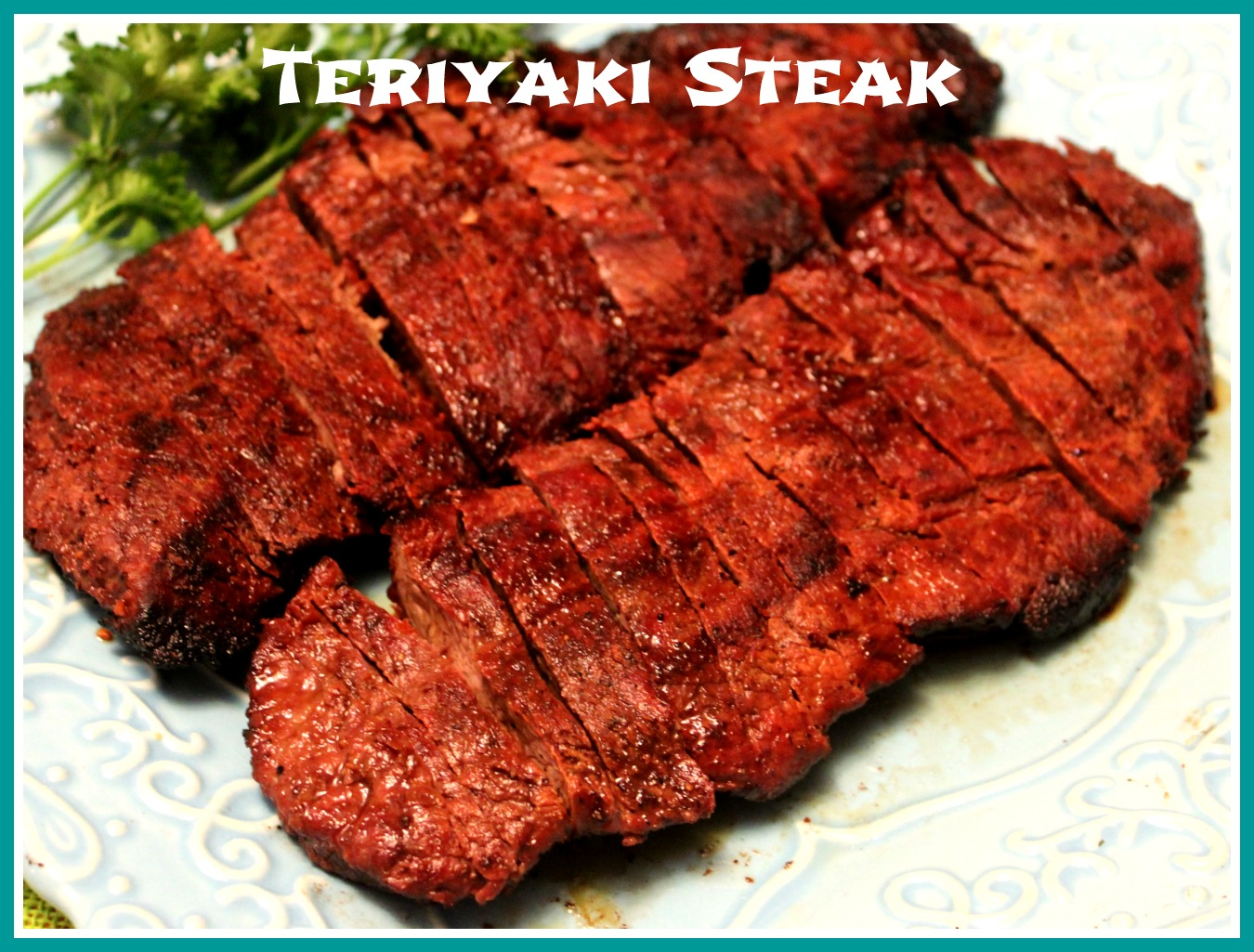 this grilled teriyaki steak is a great way to cook flat iron steaks ...