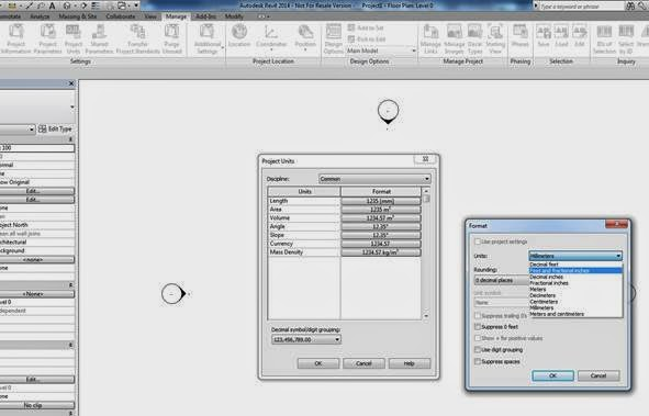 Changing The Project Units In Revit Cadline Community