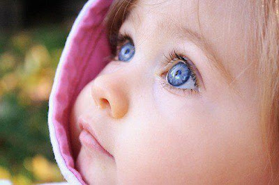 HAVING BLUE EYES IS ACTUALLY A MUTATION. BEFORE THE MUTATION OCCURRED, ALL HUMANS HAD BROWN EYES.
