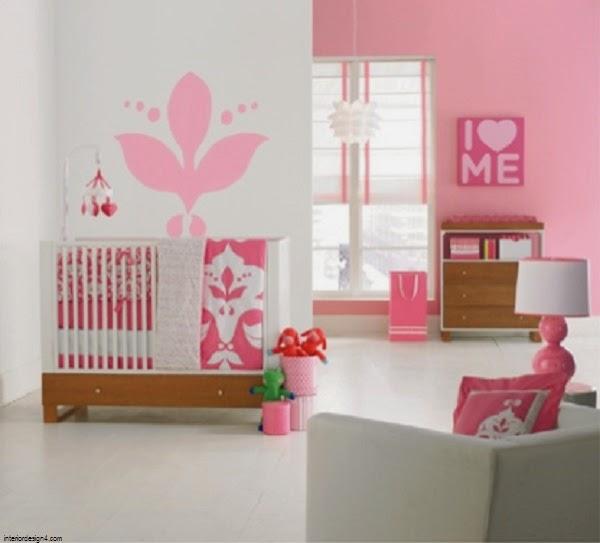 magnifique déco intérieur chambre bébé fille