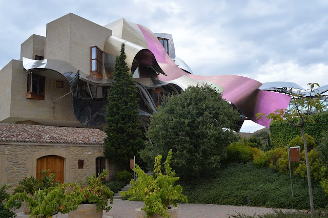frank gehry hotel winery bodega marques de riscal rioja wine vino