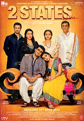 Watch 2 States (2014) DVDScr Hindi Movie Watch Online Free Download
