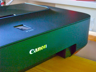 canon printer without display on top
