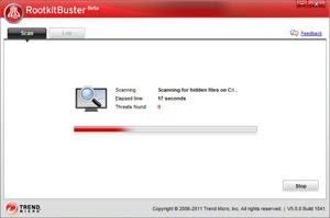 Trend Micro rootkitbuster | rootkit scanner software