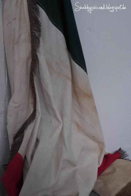 antike französische Flagge