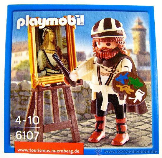 Playmobil famous artist