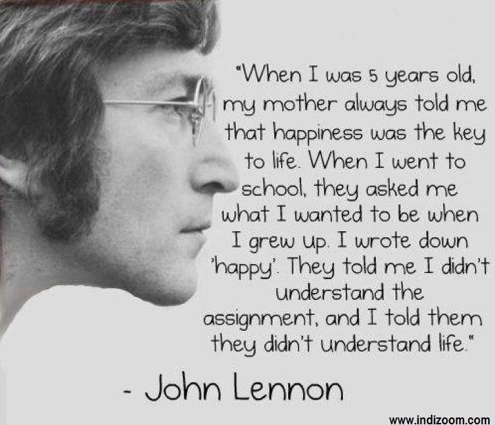 Quotes Of John Lennon INDI ZOOM Best Sandra Malayalam Quotes