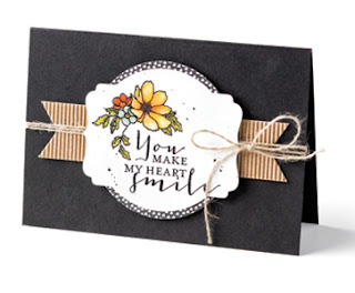 Stampin' Up! Timeless Love card #stampinup www.juliedavison.com