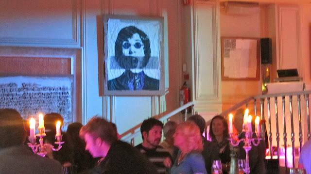 Ramses bar during Daniela's exhibition