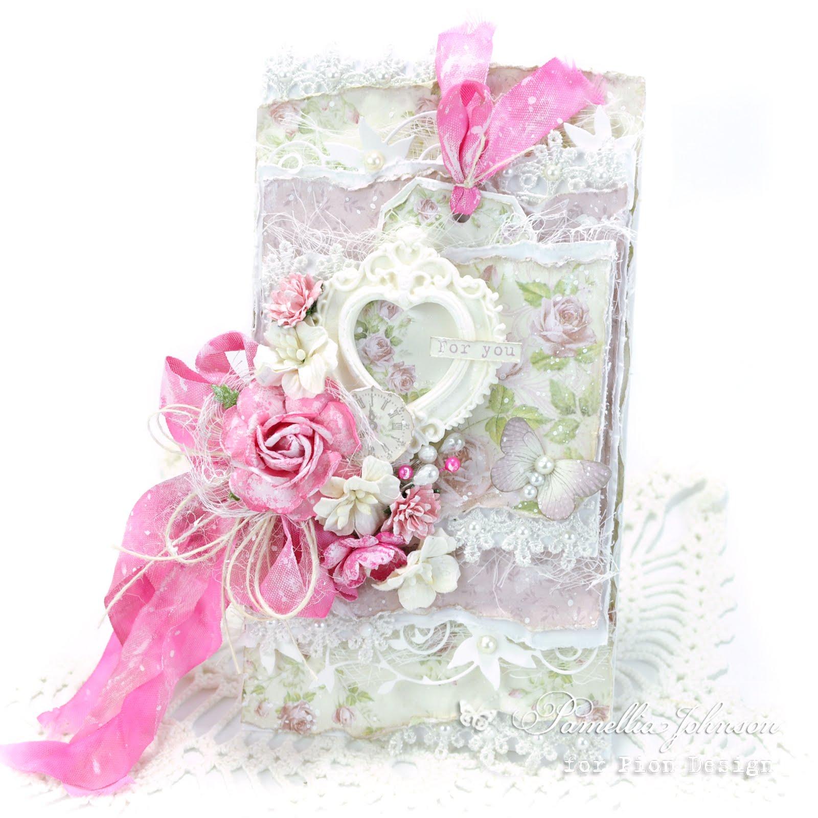 Pion Design - Pink Valentine Roses