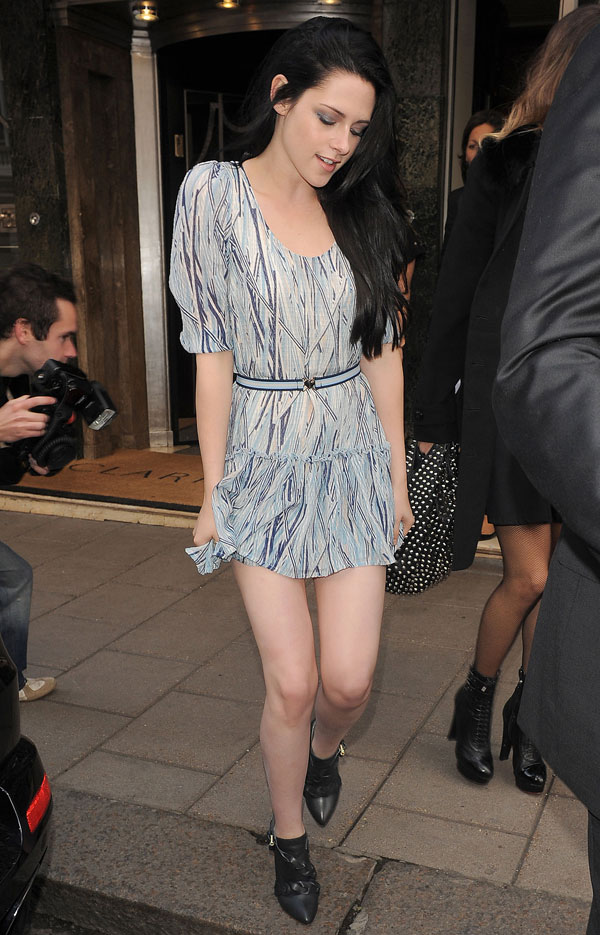 Rob Kris It Started With Twilight A Lovely Kristen Stewart At London Fashion Week