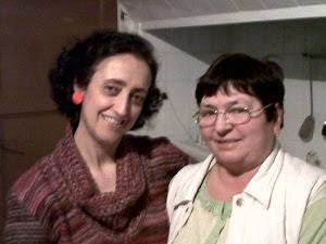 Mi amiga María,la rumana,y yo.