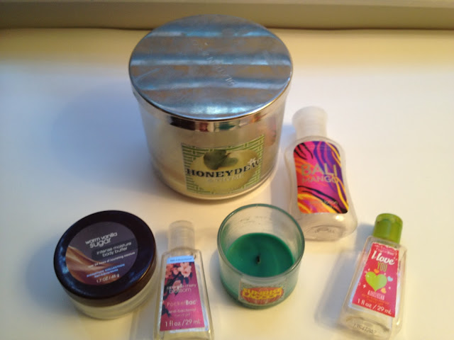 Bath & Body Works Empties