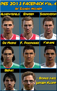 PES 2013 Facepack Vol.4 by Sameh Momen