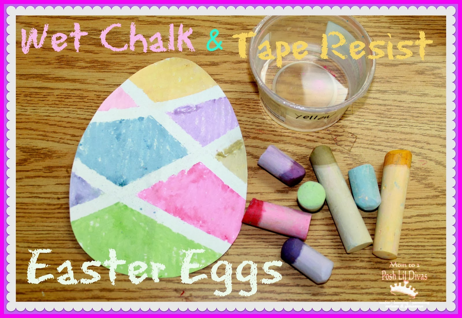 easter projects for toddlers 2 colorful eggs