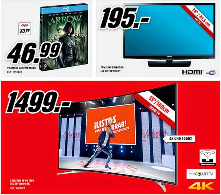 ofertas de tv media markt desde 195€. 11-2014