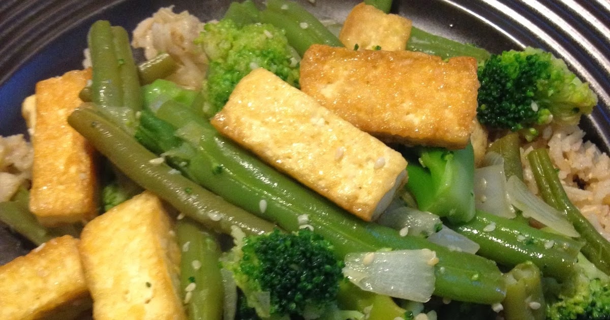 Tofu and Vegetable Stir-fry