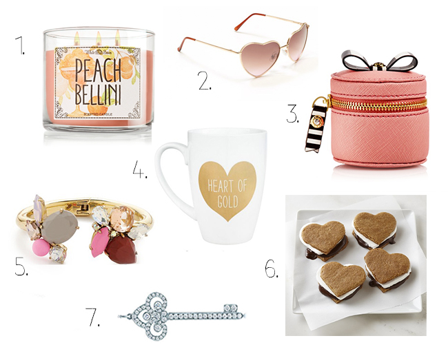 What to get your girl for valentines day - Tiffany's jewels, s'mores a gold mug and more!