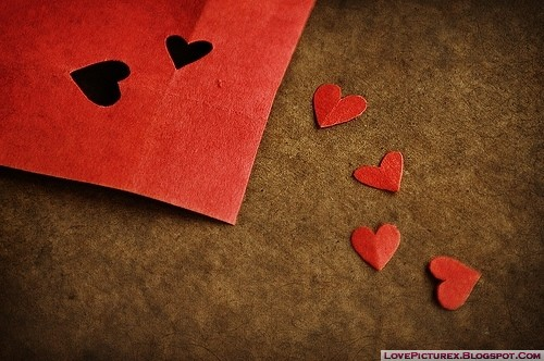 red heart love cute