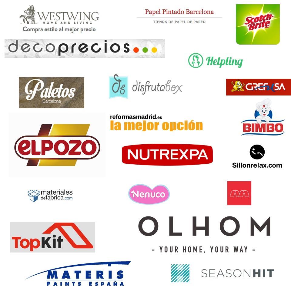 Logos patrocinadores blog