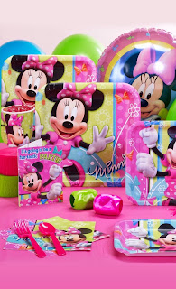 Disney Minnie Bows Standard Party Pack  - PartyBell.com