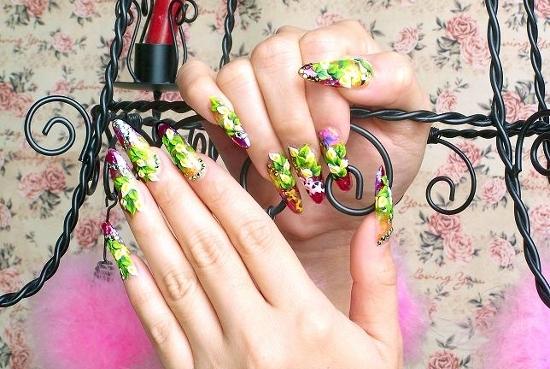 nail art nail Unhas bem cuidadas em outro nível