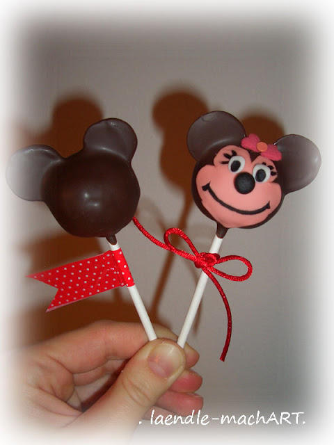Minnie Mouse, Cake Pop, Cakepop, Tutorial