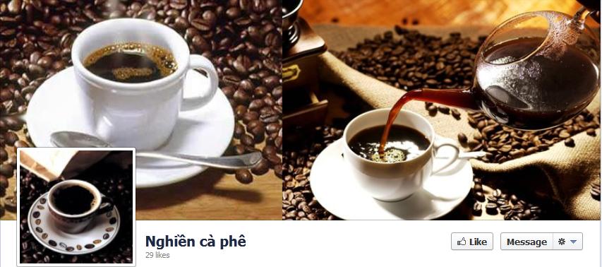 Fanpage của Nghiền cà phê