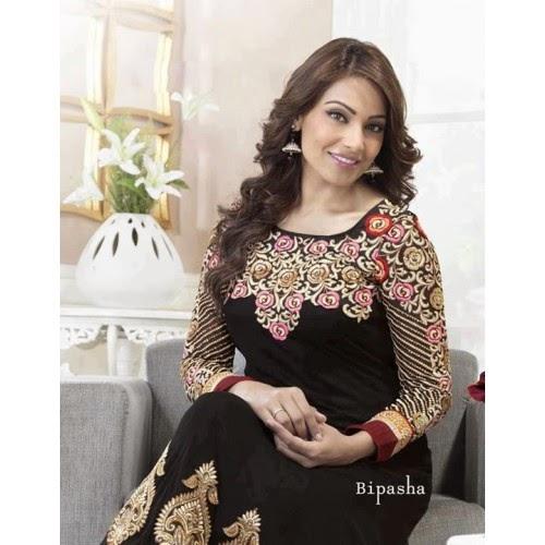 Bipasha Bassu in Black suit