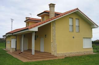 Vivienda unifamiliar en Villaverde Asturias del arquitecto Lucia Garcia Serrano