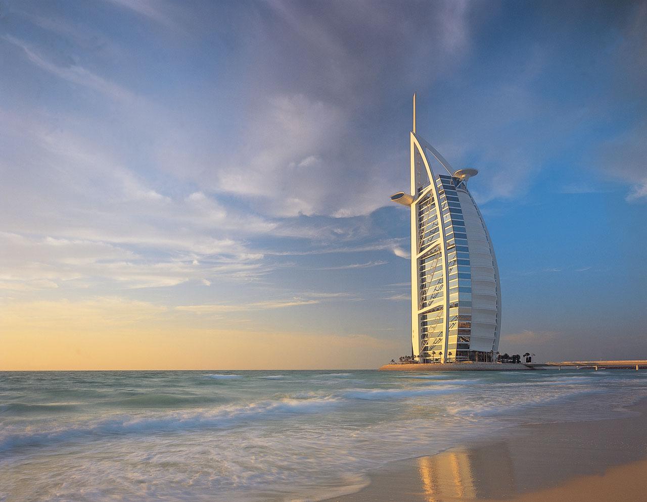 World most popular places burj al arab dubai for Burj al arab 7 star