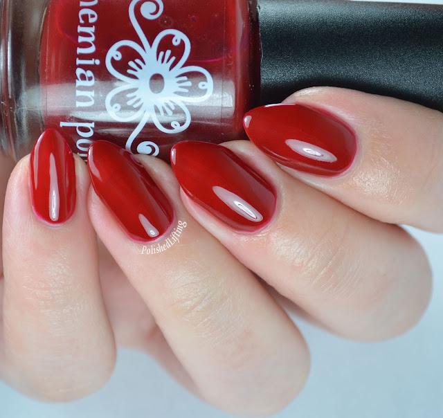 Bohemian Polish Cranberry
