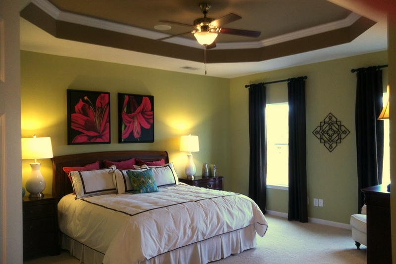 My chaotic world tray ceilings race cars and tequila for Raised bedroom ceiling