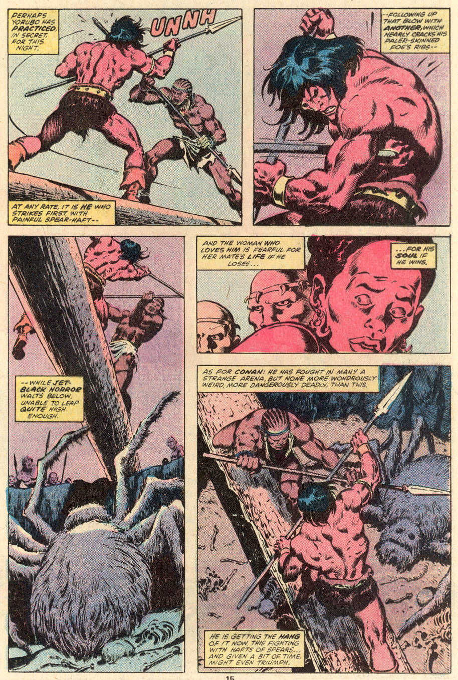 Conan the Barbarian (1970) Issue #101 #113 - English 11