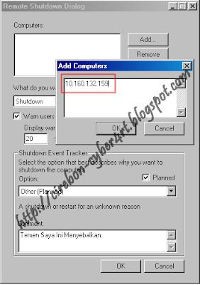 Trick Mematikan Komputer Orang Lain Lewat CMD