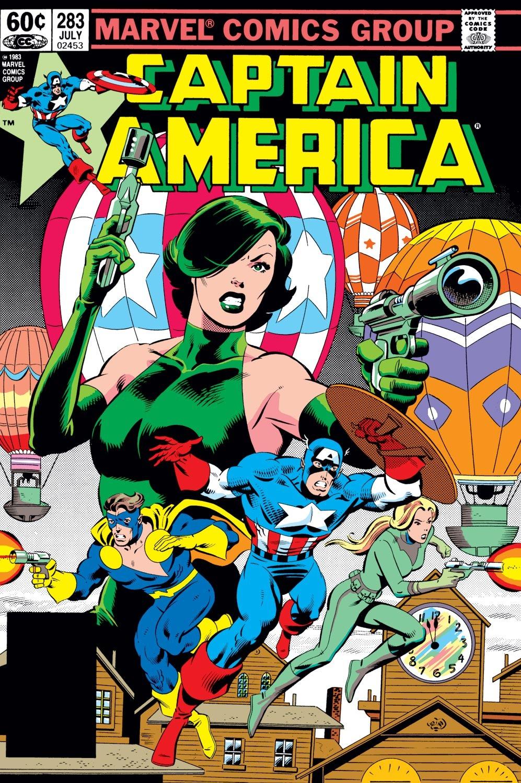 Captain America (1968) Issue #283 #199 - English 1