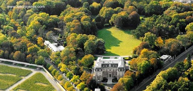 Chateau en Reims, Francia